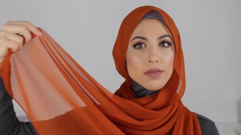 Le Hijab En Mousseline De Soie5