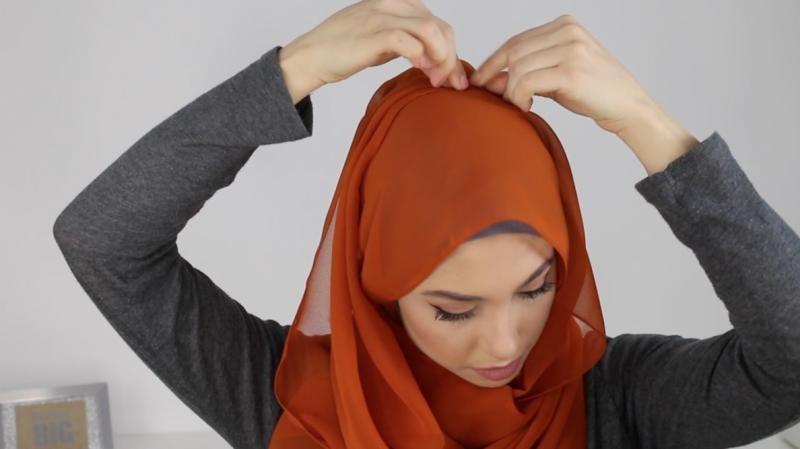 Le Hijab En Mousseline De Soie7
