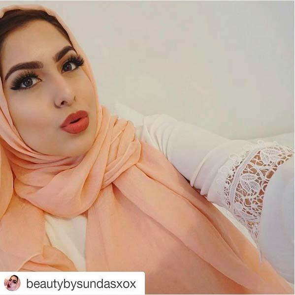 Maquillage d'Été - Nos 8 Inspirations Coups de Cœur Pour Femme Voilée5