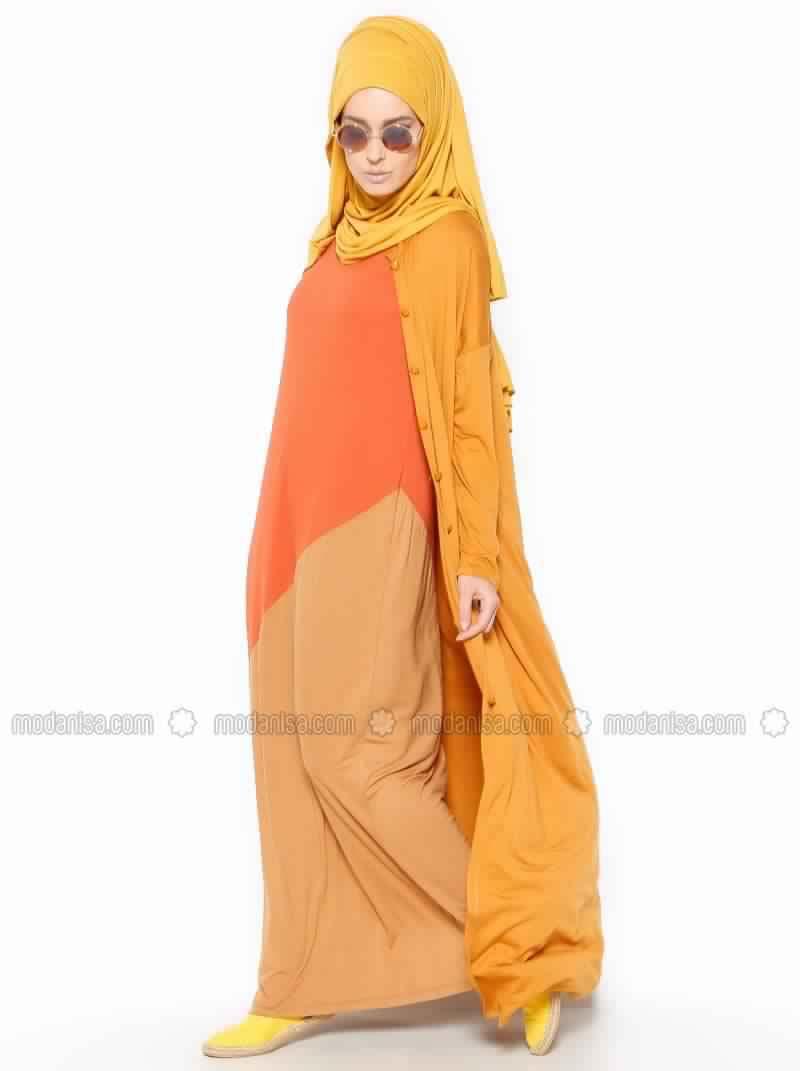 Nouvelle Robe pour Femme Voilée Pas Cher4