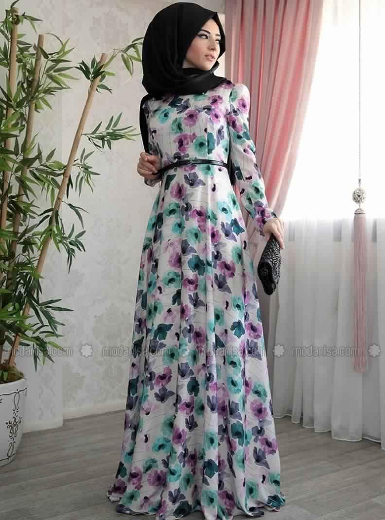 Robe D'Été Pour Femme Voilée2