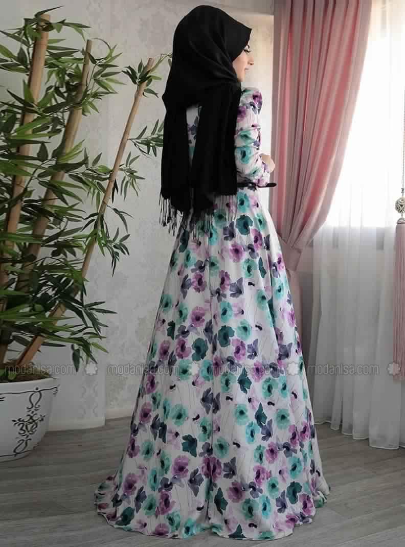 Robe D'Été Pour Femme Voilée4