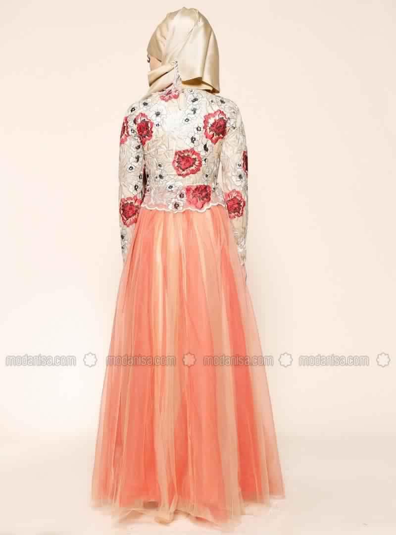 Robe De Soirée Mariage Pour Les femmes Voilée