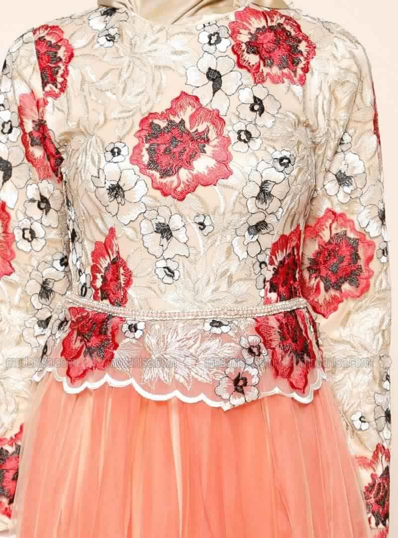 Robe De Soirée Mariage Pour Les femmes Voilée 1