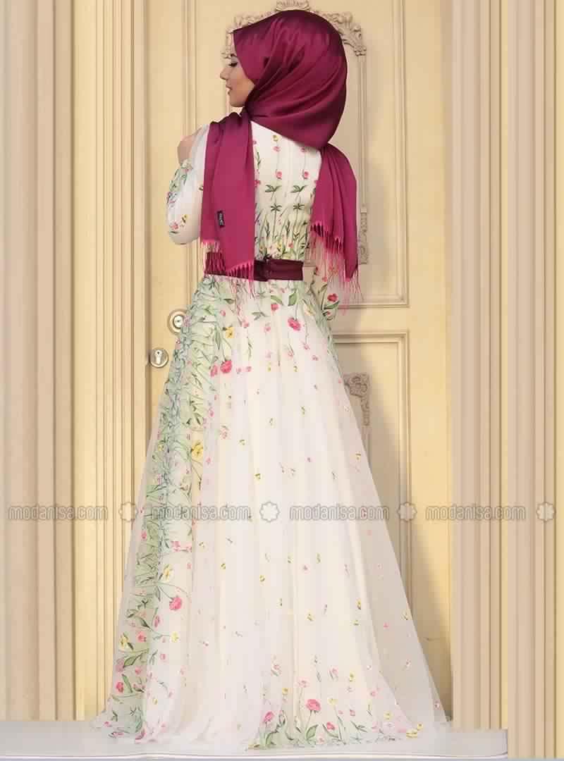 Robe De Soirée Pour Femme Voilée5