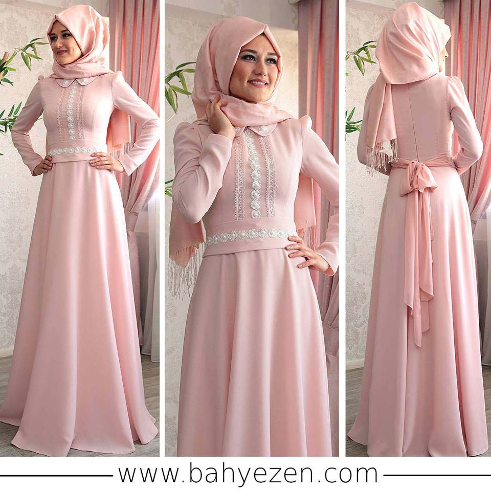 Robes Femme Voilée Pour Soirée10