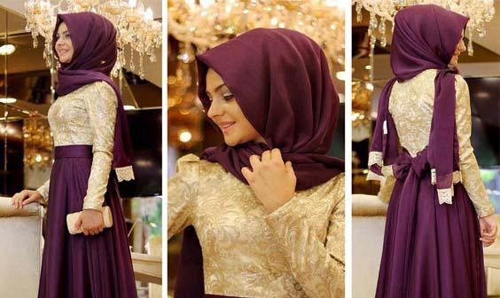 Robes Femme Voilée Pour Soirée13