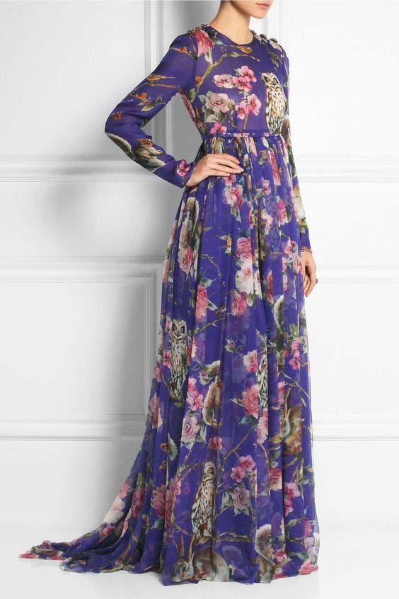 Robes Longues Pour Femme Voilée11