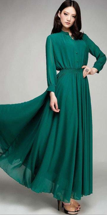 Robes Longues Pour Femme Voilée14