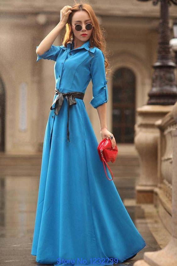Robes Longues Pour Femme Voilée26