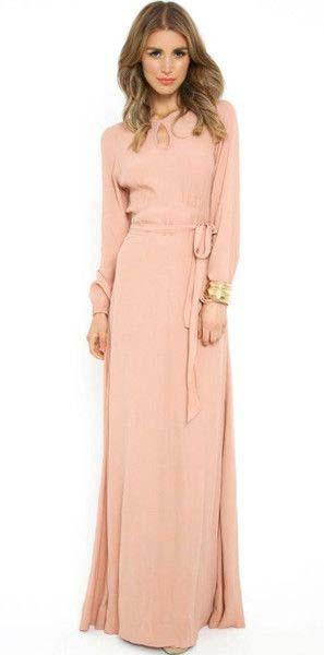 Robes Longues Pour Femme Voilée4