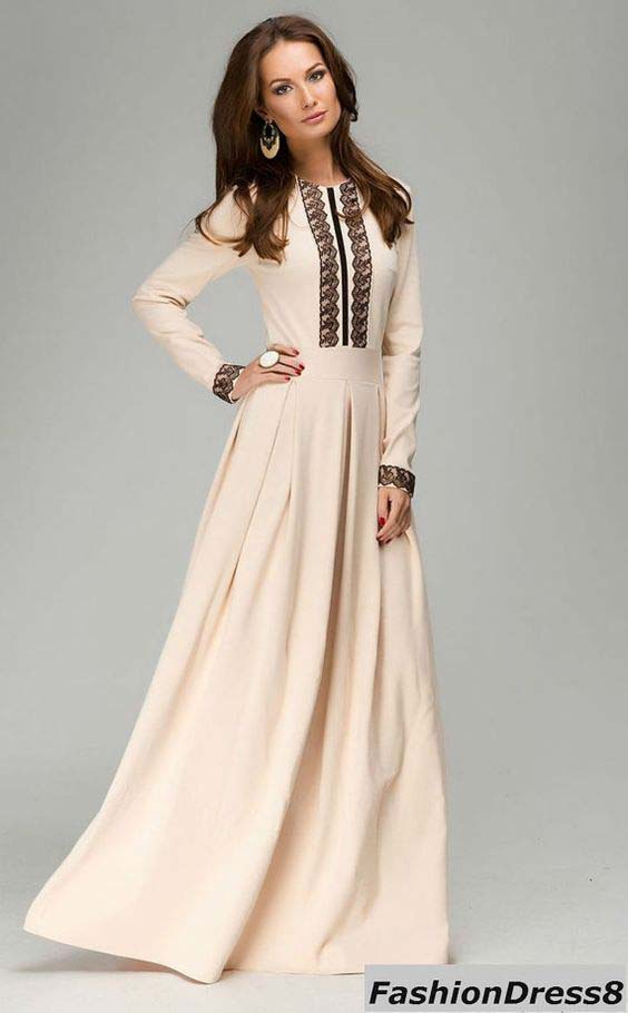 Robes Longues Pour Femme Voilée6