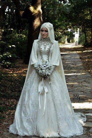 Robes Mariage Femme Voilée
