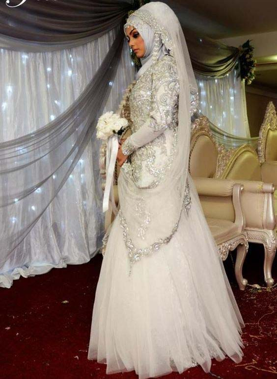 Robes Mariage Femme Voilée10