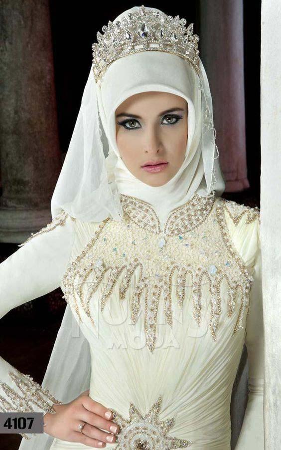 Robes Mariage Femme Voilée13