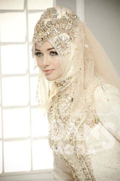 Robes Mariage Femme Voilée14