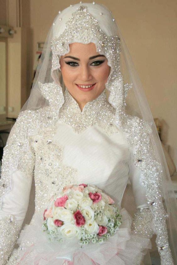 Robes Mariage Femme Voilée18