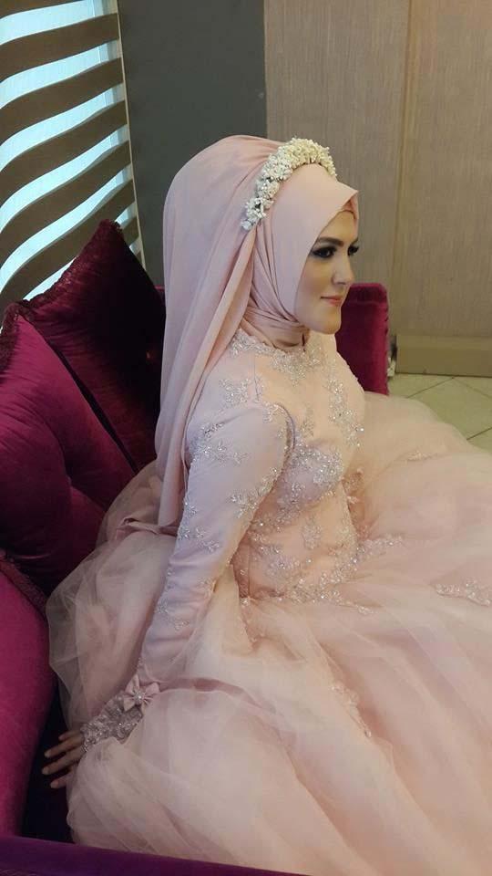 Robes Mariage Femme Voilée19