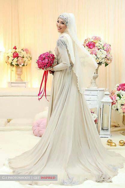 Robes Mariage Femme Voilée4