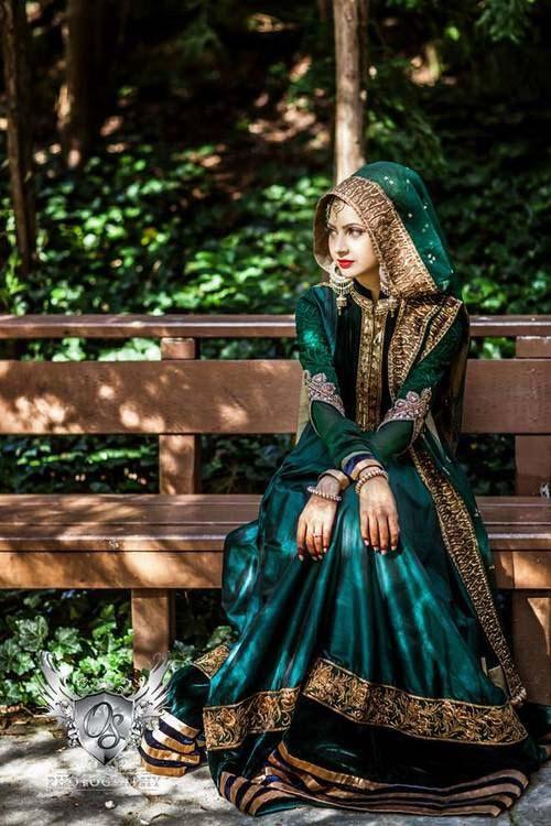 Robes Mariage Femme Voilée6