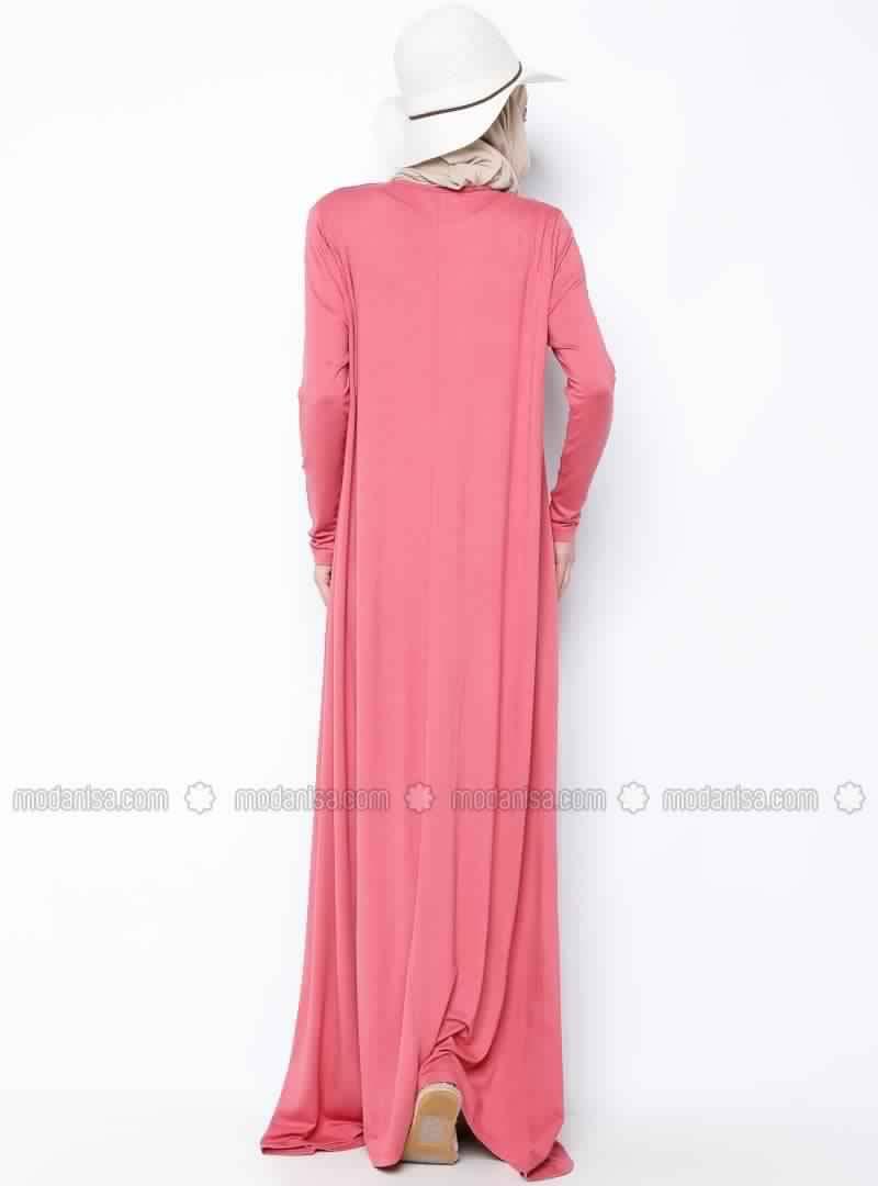 Robes Rose En Coton