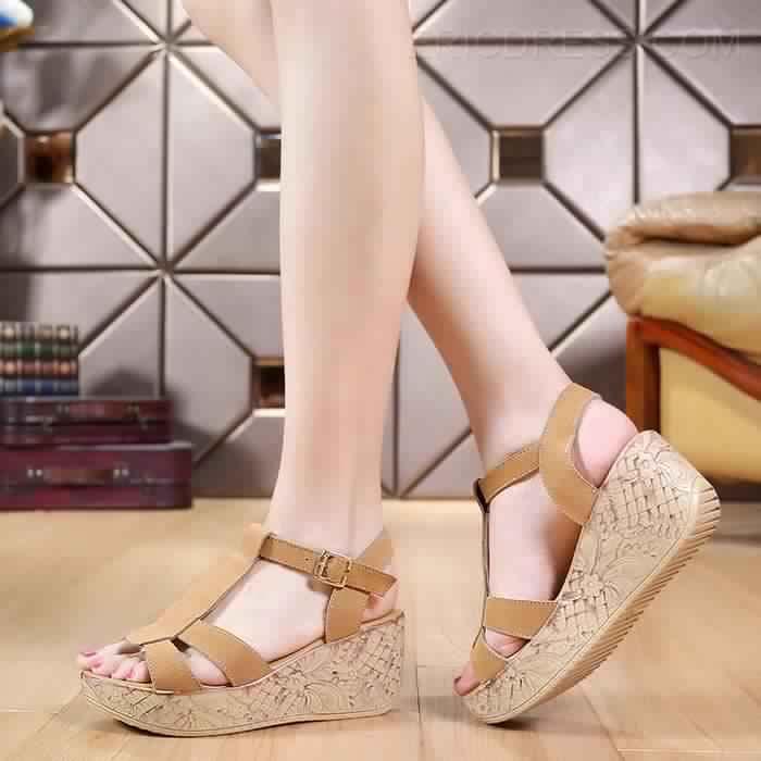 Sandales Compensées12