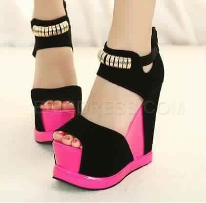 Sandales Compensées16