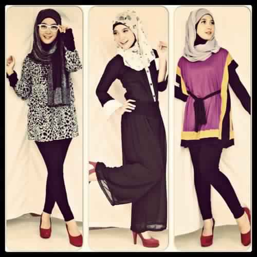 Styles Hijab Pratiques1