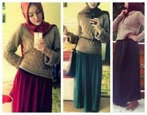 Styles Hijab Pratiques11