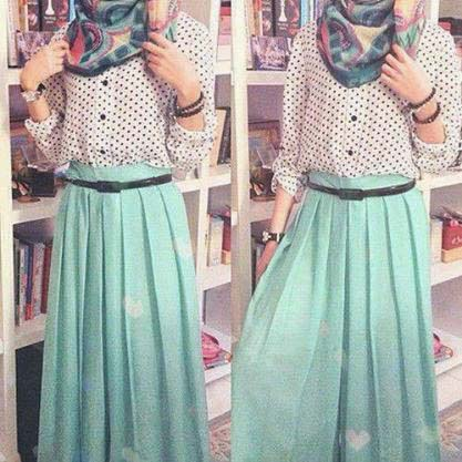 Styles Hijab Pratiques27