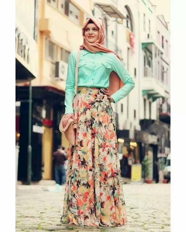 Styles Hijab Pratiques34