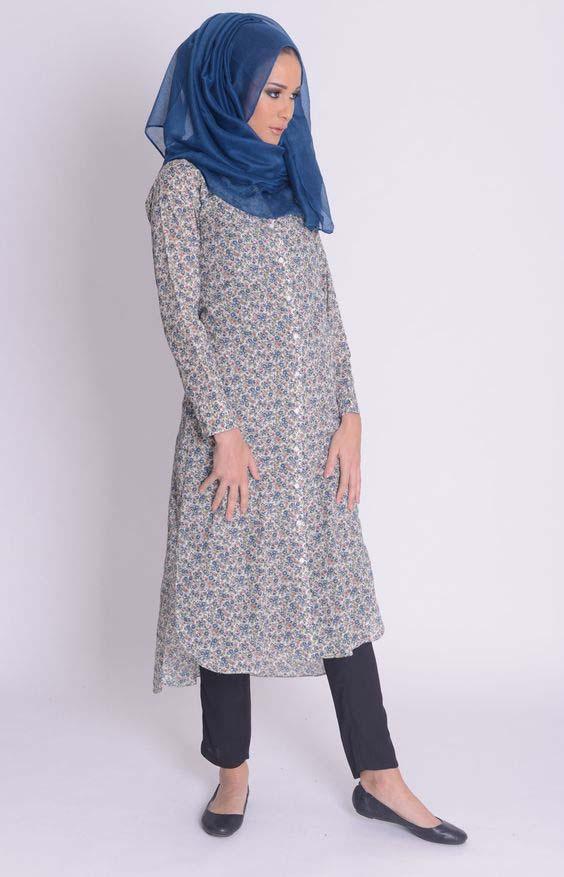 Styles Hijab Pratiques37