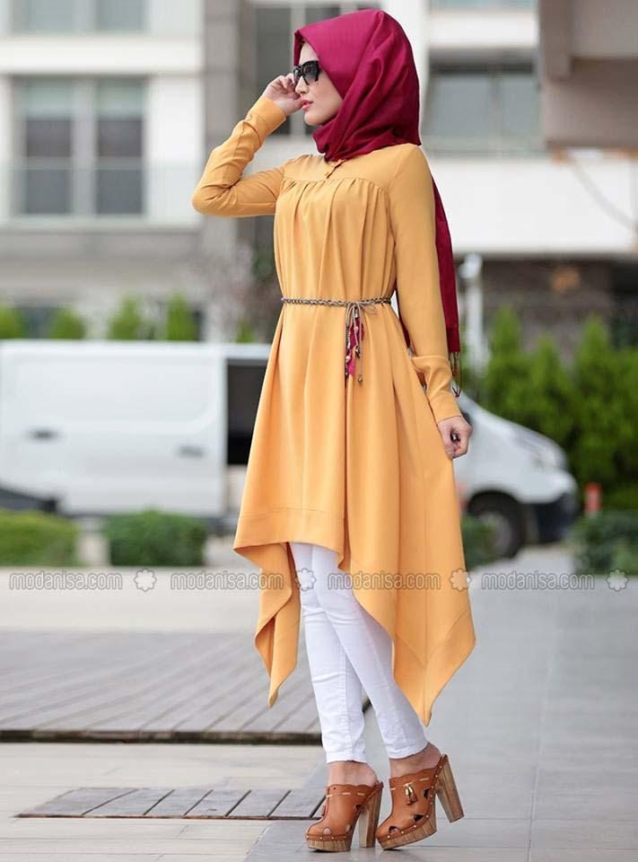 Styles de Hijab Modernes 10