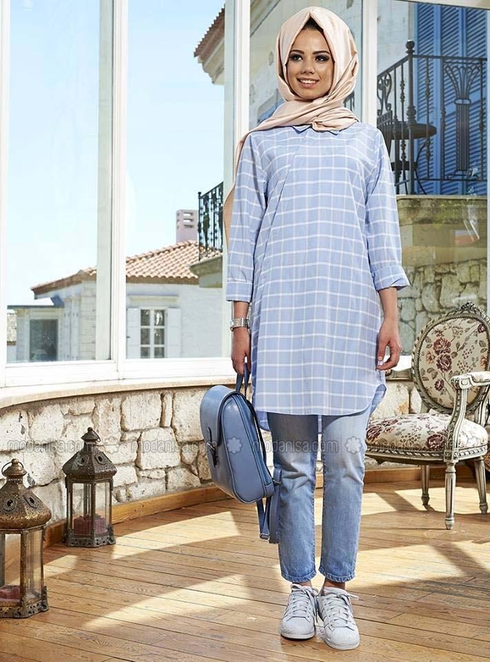 Styles de Hijab Modernes 11