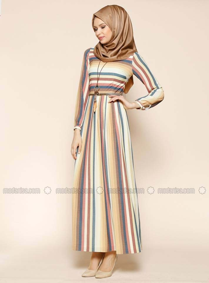 Styles de Hijab Modernes 13