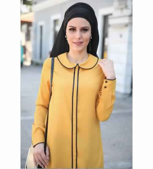 Tunique Longue Pour Femme Voilée2