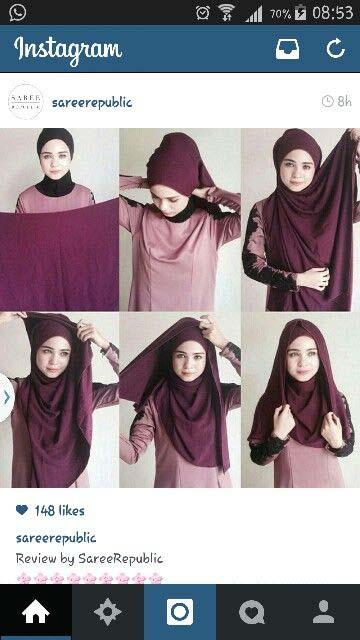 Tutoriels Hijab Modernes10