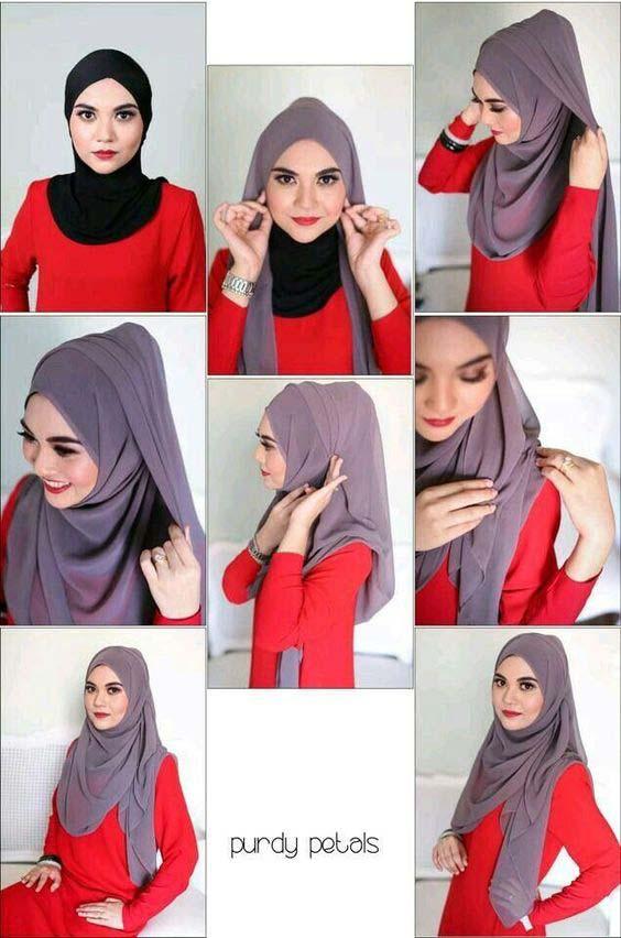 Tutoriels Hijab Modernes4