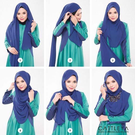 Tutoriels Hijab Modernes8