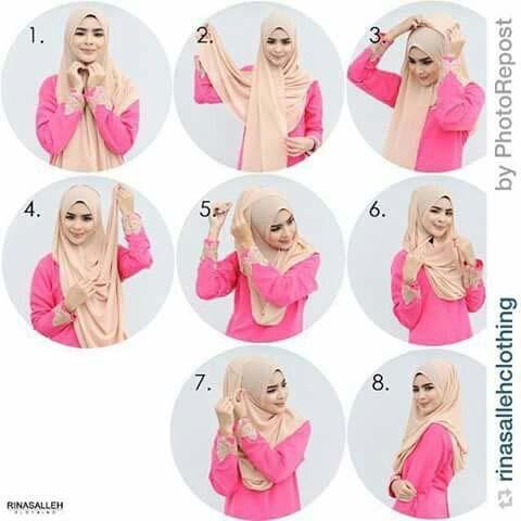 Tutoriels Hijab Modernes9