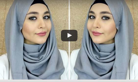 look d t voici comment mettre le hijab moderne et fashion astuces hijab. Black Bedroom Furniture Sets. Home Design Ideas