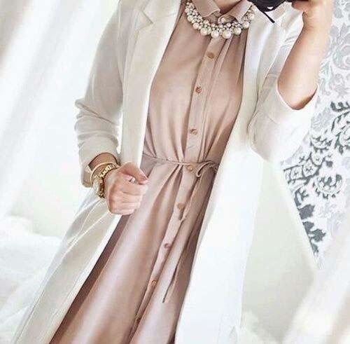 Comment Mettre Le Collier de Perles Avec Le Hijab17