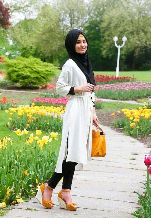 Comment le porter correctement Avec Le Hijab.10