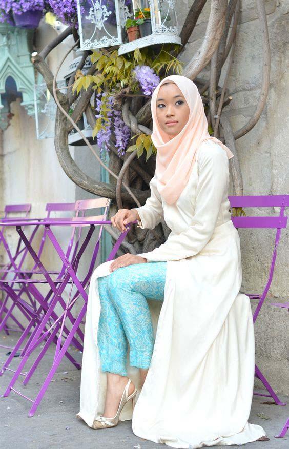Comment le porter correctement Avec Le Hijab.17