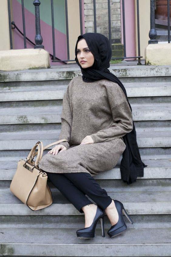 Comment le porter correctement Avec Le Hijab.6