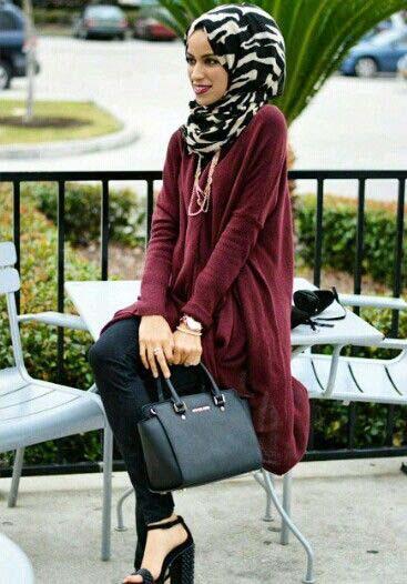 Comment le porter correctement Avec Le Hijab.8