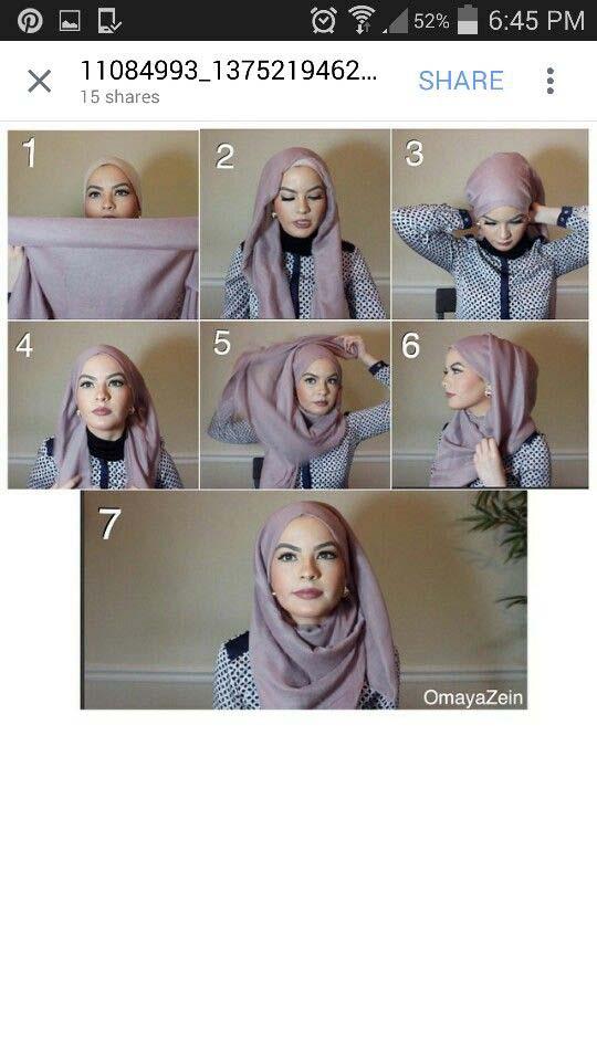 Hijab festif.