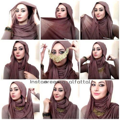 Hijab festif.12