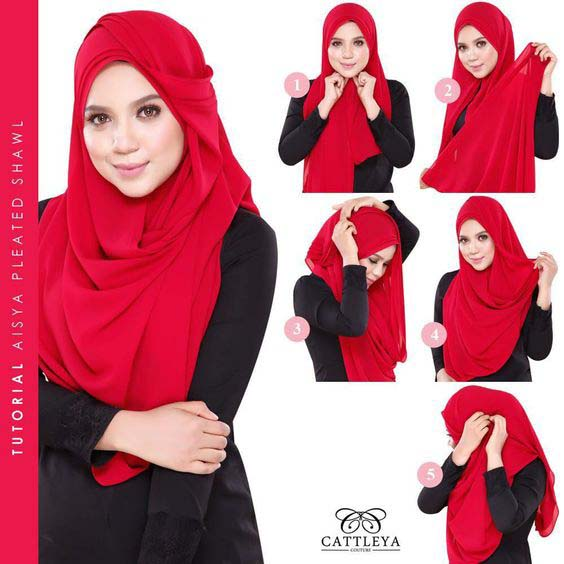 Hijab festif6