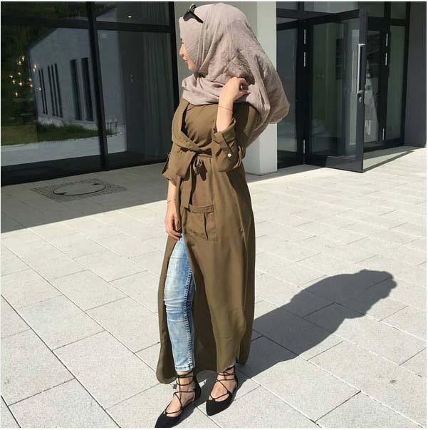 Looks Hijab Légers et Confortables10